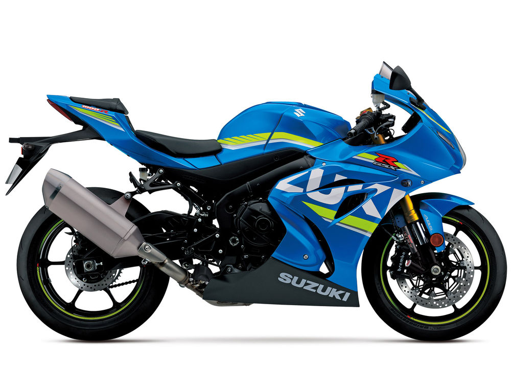 Suzuki GSXR1000 2017 Onwards
