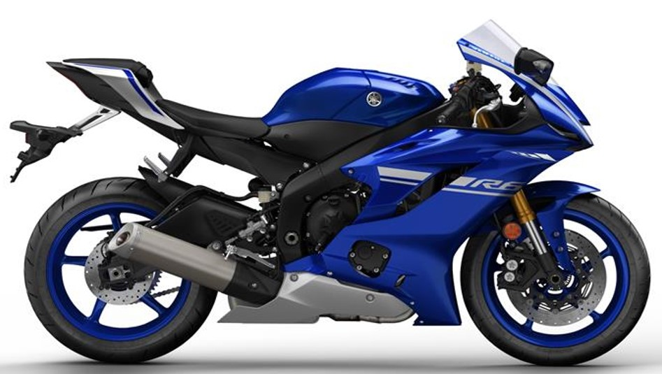 Yamaha R6 2017 Onwards