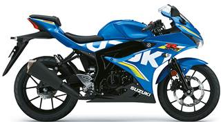 Suzuki GSXR-125 2018 Onwards