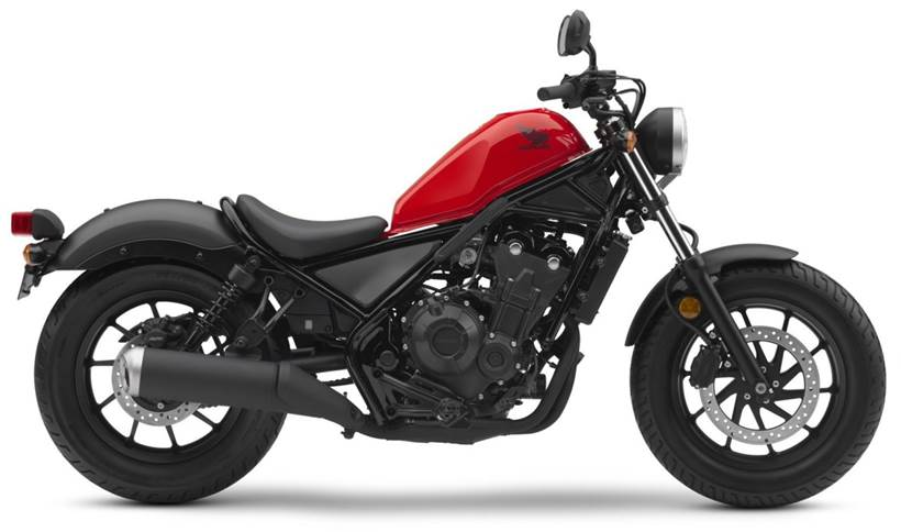 Honda Rebel 500 2018 Onwards