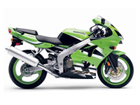 Kawasaki ZX6R A1P 2002 Onwards